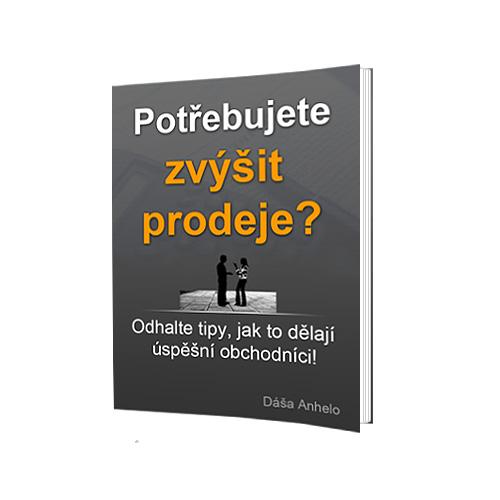 Jak zvýšit prodeje dlouhodobě? Anhelo.cz stáhněte si e-book zdarma