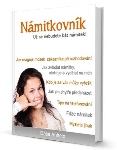 Námitkovník je e-book, s jehož pomocí naprosto změníte svůj pohled na svůj dosavadní prodej a řešení námitek.